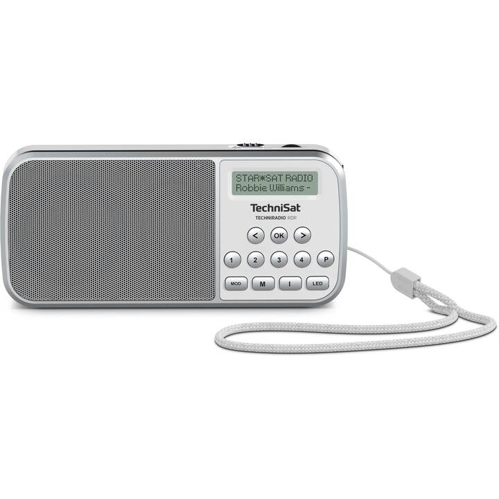 TECHNISAT Techniradio Radio per cucina / -bagno (Grigio, Bianco)