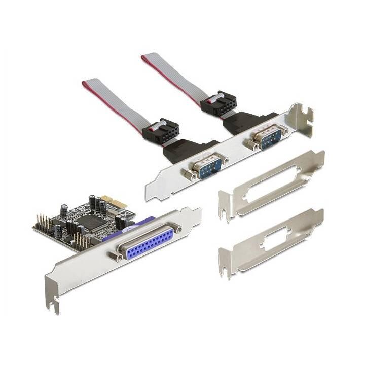 DELOCK Scheda di interfaccia (PCI Express, RS232)