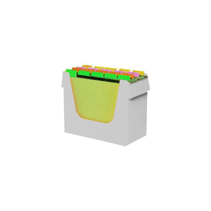 ORNALON Box per Cartelle di sospensione (Grigio)