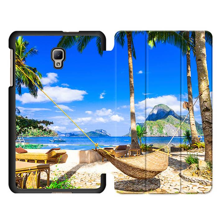 "EG MTT Tablet Bag con coperchio pieghevole Smart per Samsung Galaxy Tab A 8 ""Tablet - Beach"