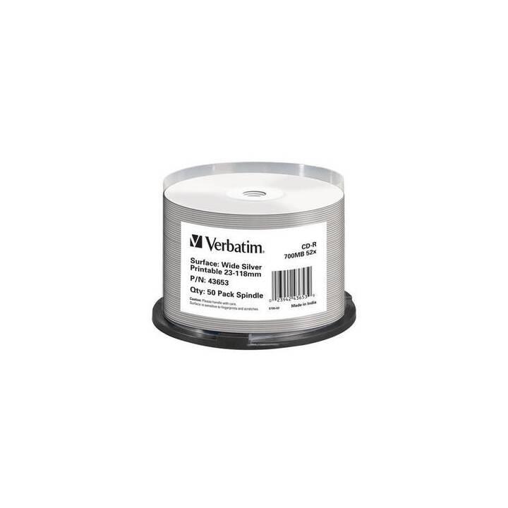 VERBATIM CD-R Inkjet 700 MB