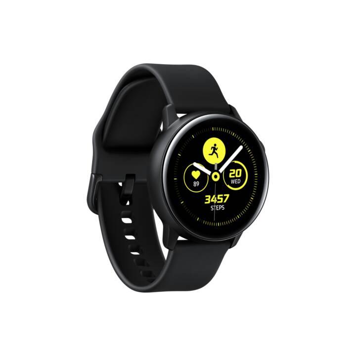 SAMSUNG Galaxy Watch Active (40.0 mm, Aluminium, Kautschuk)