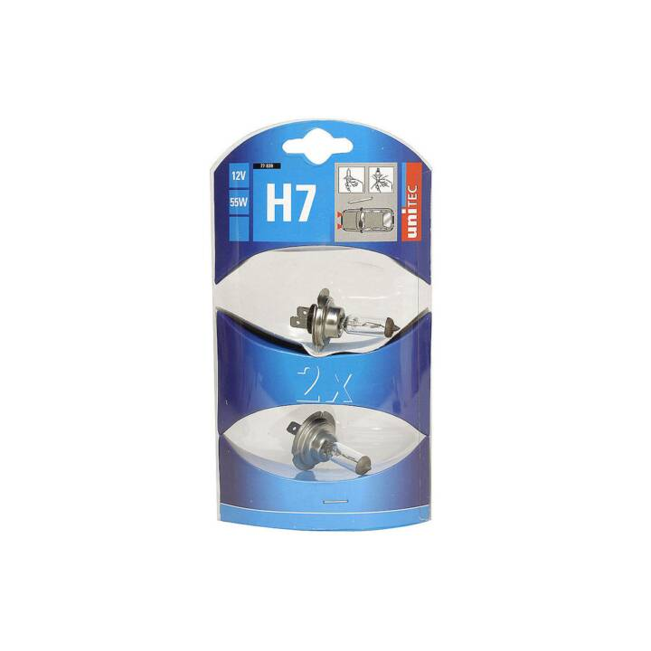 UNITEC Halogenlampe H7 12 V