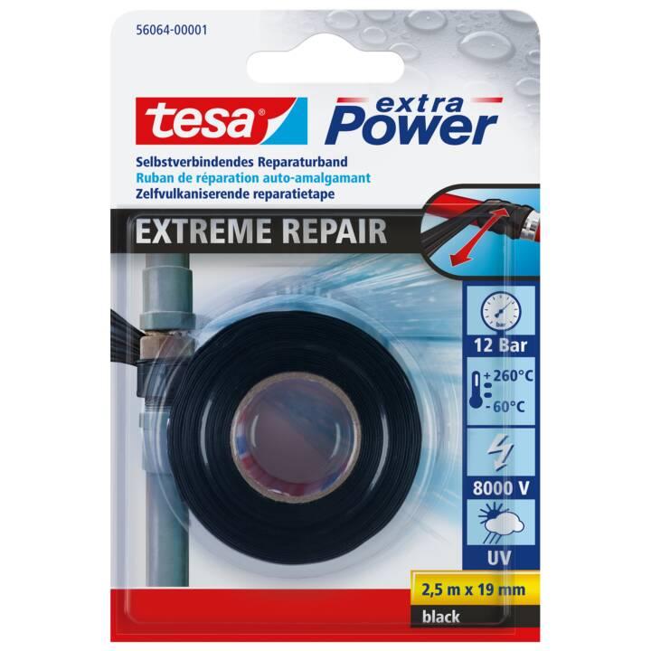 Ruban d'étanchéité TESA Extreme Repair 2,5 m x 19 mm Noir