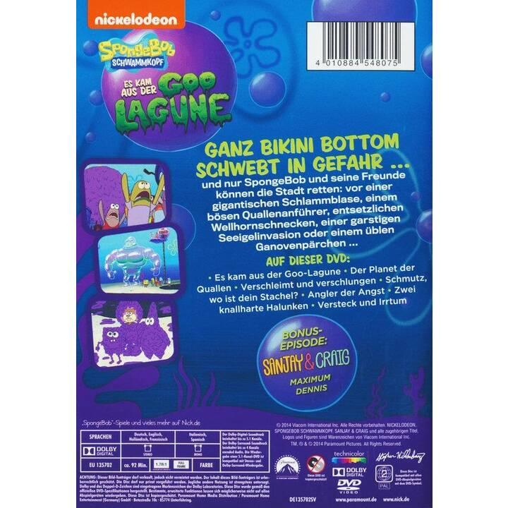 SpongeBob Schwammkopf - Es kam aus der Goo Lagoon (ES, IT, DE, NL, EN, FR)