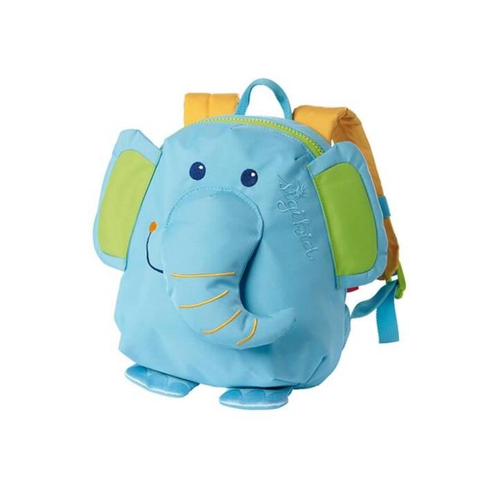 ARRAY Sac à dos de jardin d'enfants Elefant (Bleu)