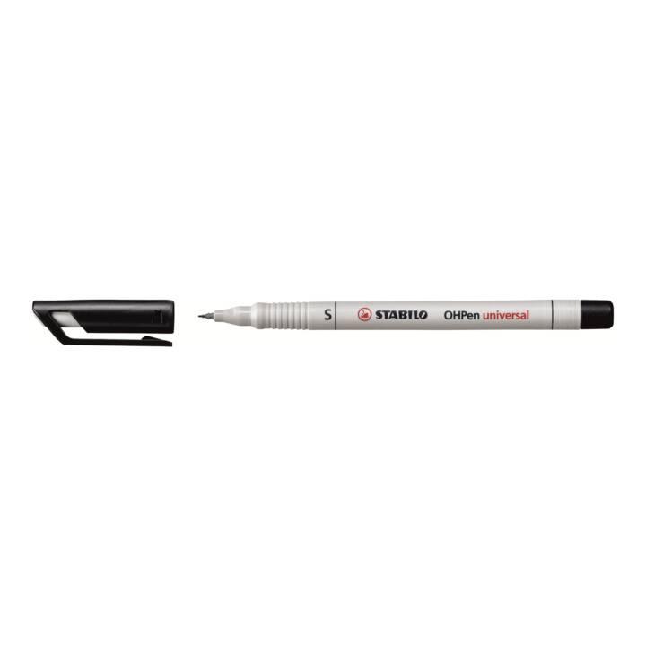 STABILO OHP-Pen non permanente, 0,4 mm, nero