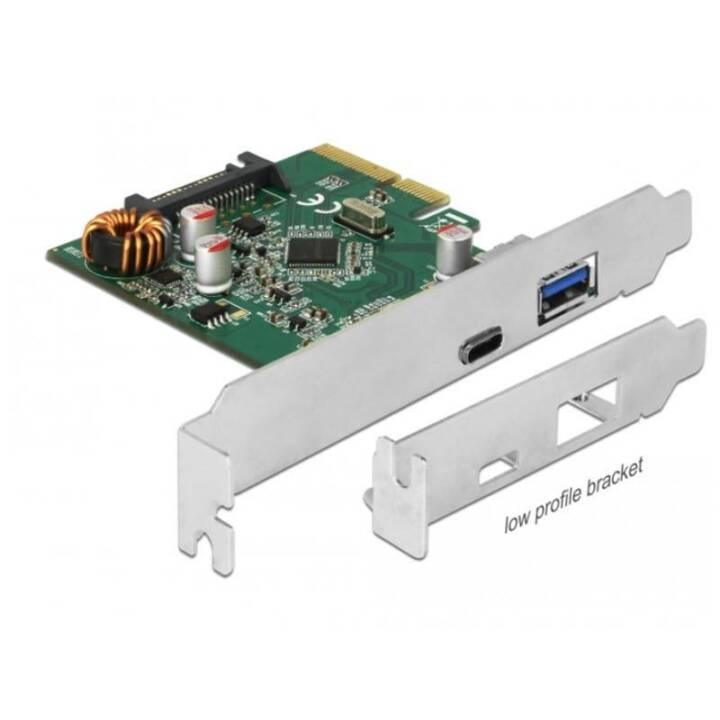 DELOCK 90299 PCI-Express-Karte (USB Typ A/USB Typ C)