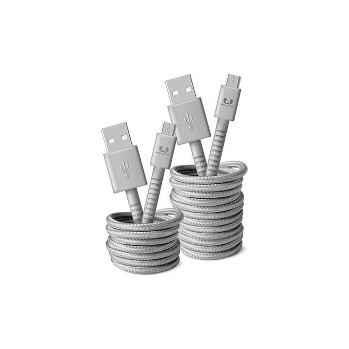 FRESH 'N REBEL 2UMC150IG Kabel (USB Typ-A, Micro USB Typ-A, 1.5 m)