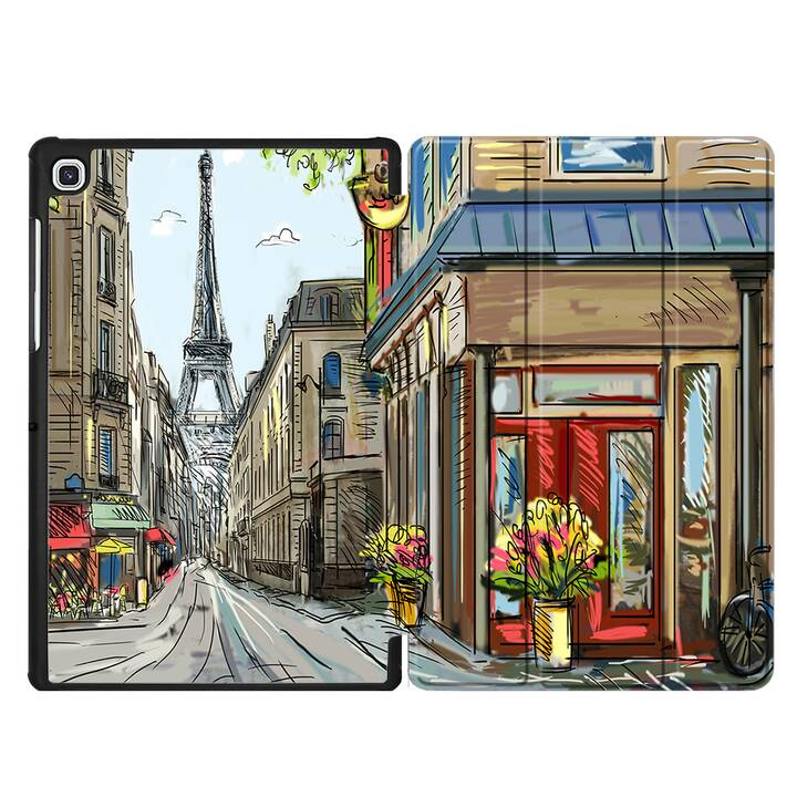 "EG MTT Housse pour Samsung Galaxy Tab S4 10.5"" - Peinture"