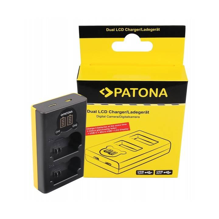 Patona Dual LCD Charger USB Fuji NP-W235