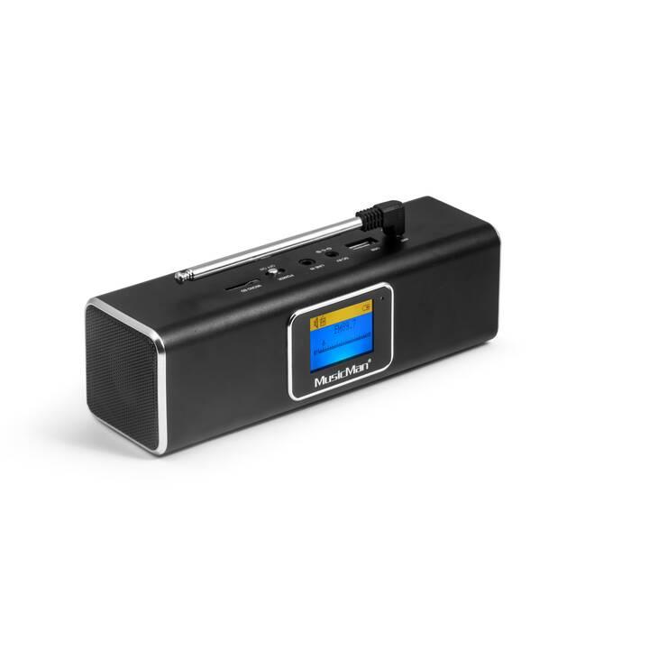 MUSIC MAN BT-X29 (Radio, Bluetooth, Nero)