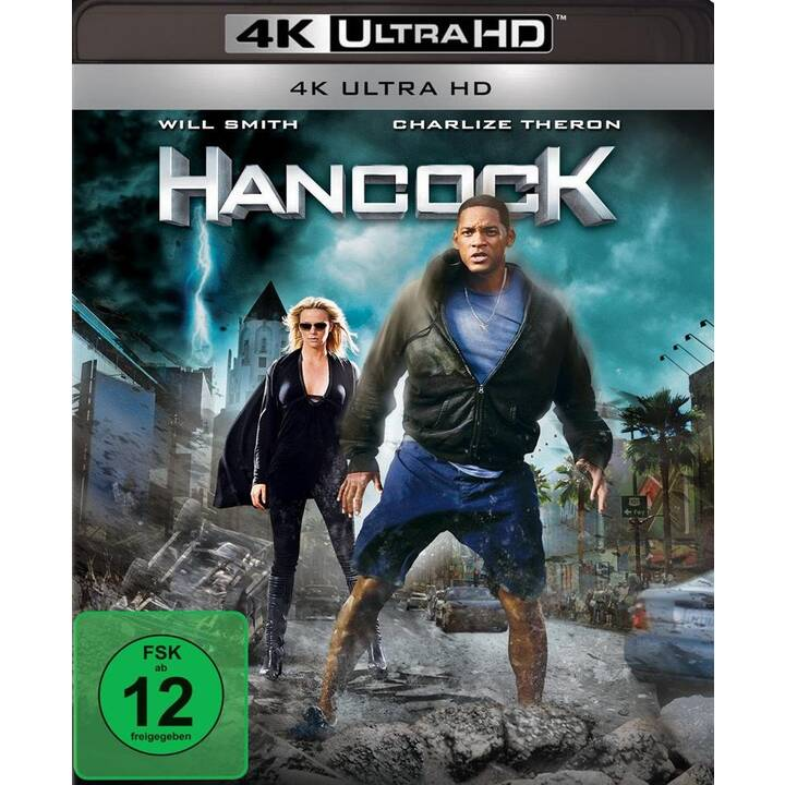 Hancock 4K Ultra HD Blu-ray (ES, IT, PT, JA, DE, EN, FR)