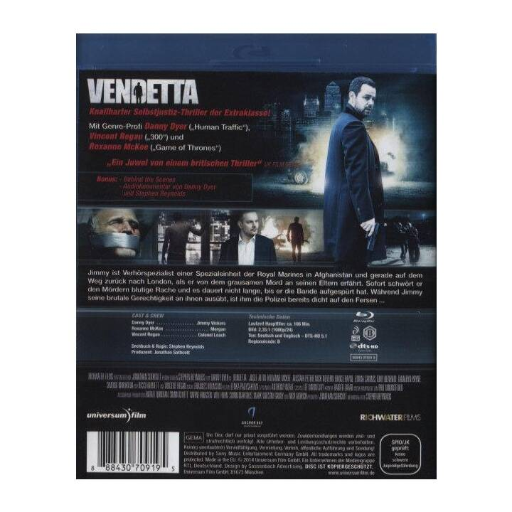 Vendetta - Richter, Jury, Henker (DE, EN)