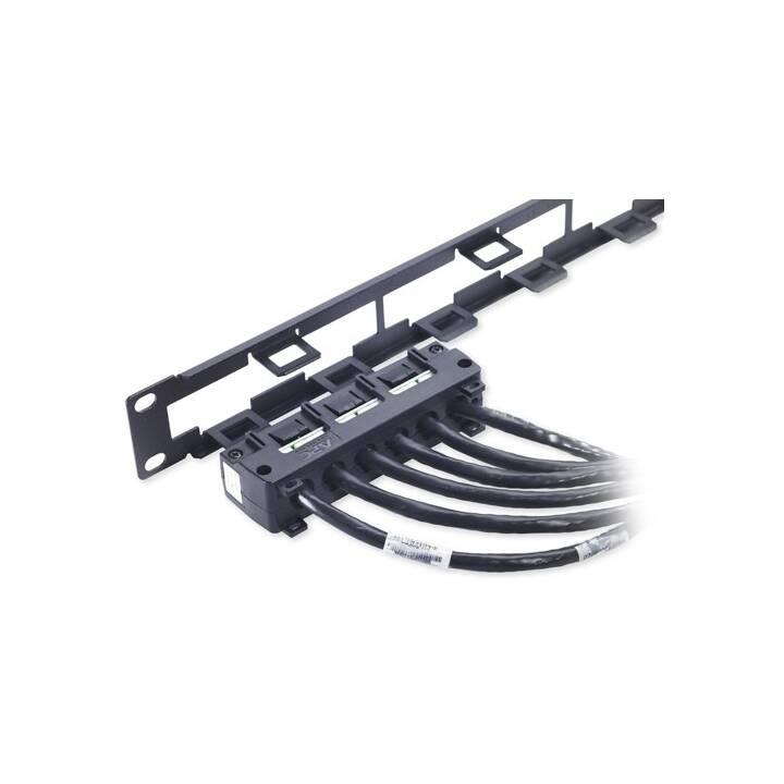 Câble de distribution de données APC, CAT6 UTP CMR, 6 x RJ-45, 2,1 m