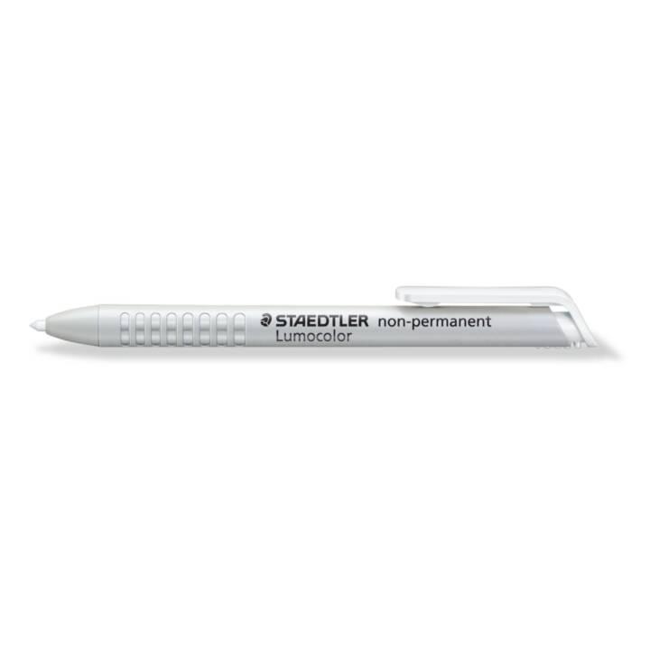 STAEDTLER Folienschreiber Lumicolor 768N-0 (Weiss, 1 Stück)