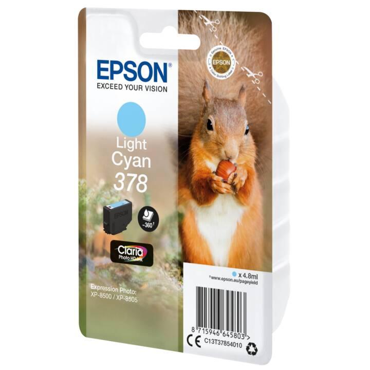 EPSON cartouche simple 378 Light Cyan