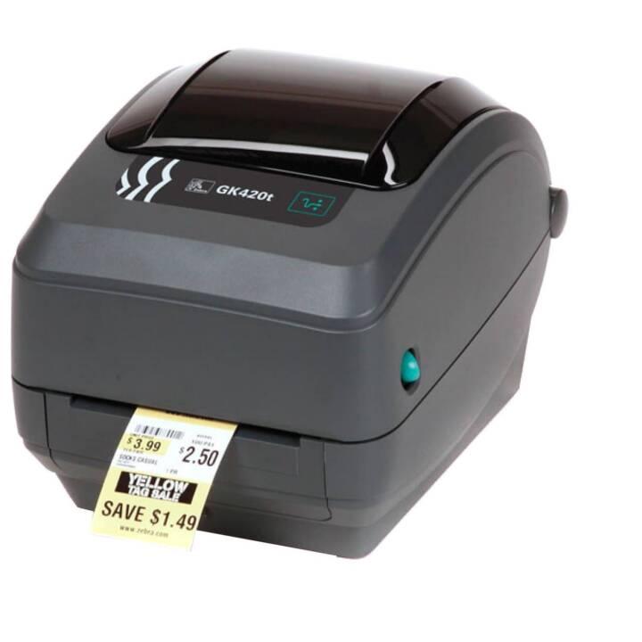 Stampante per etichette ZEBRA Technologies GK420T USB / Seriale