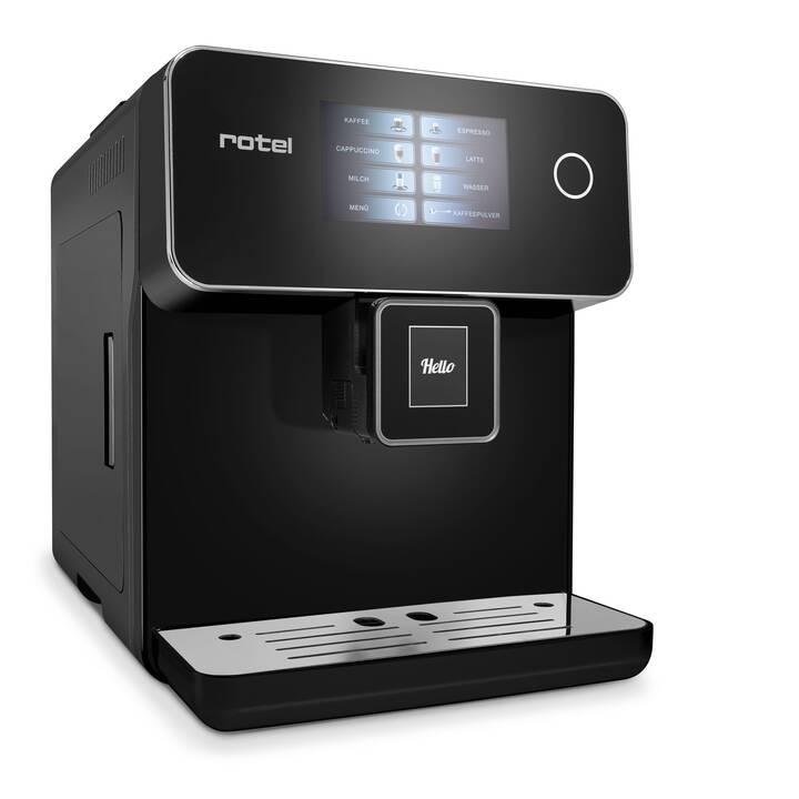 ROTEL Ancona U274CH1 (Nero, 1.5 l, Macchine caffè automatiche)