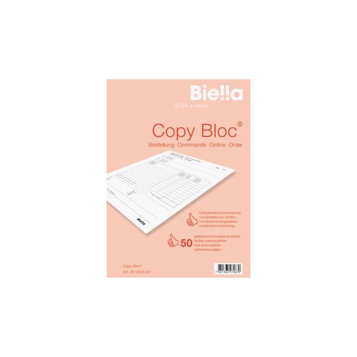 BIELLA Durchschreibeblock Copy Block A5 Bestellschein