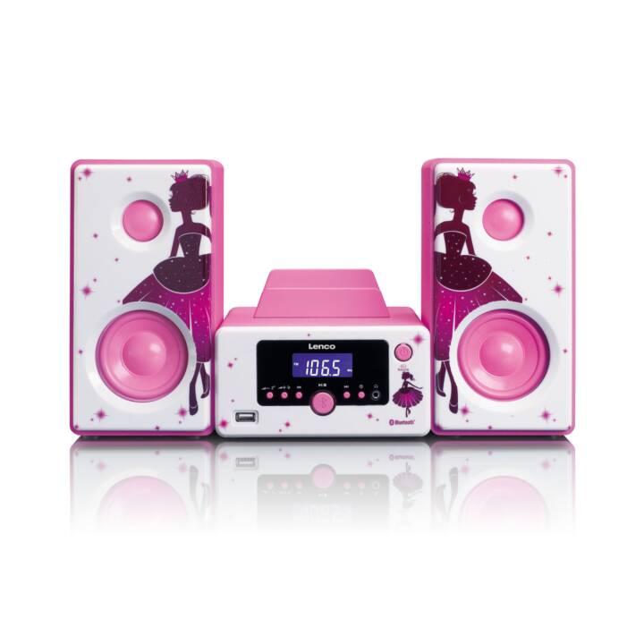 LENCO MC-020 (Pink, Bluetooth, Radio)