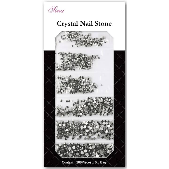 SCHAFFHAUSER Art Stone Crystal Nageldesign