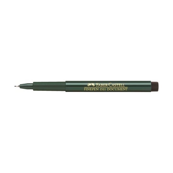 FABER-CASTELL FINEPEN 0.4mm Schwarz