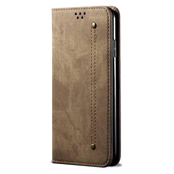 """EG Mornrise custodia a portafoglio per Samsung Galaxy S20 6.2"""" 2020 - marrone"""