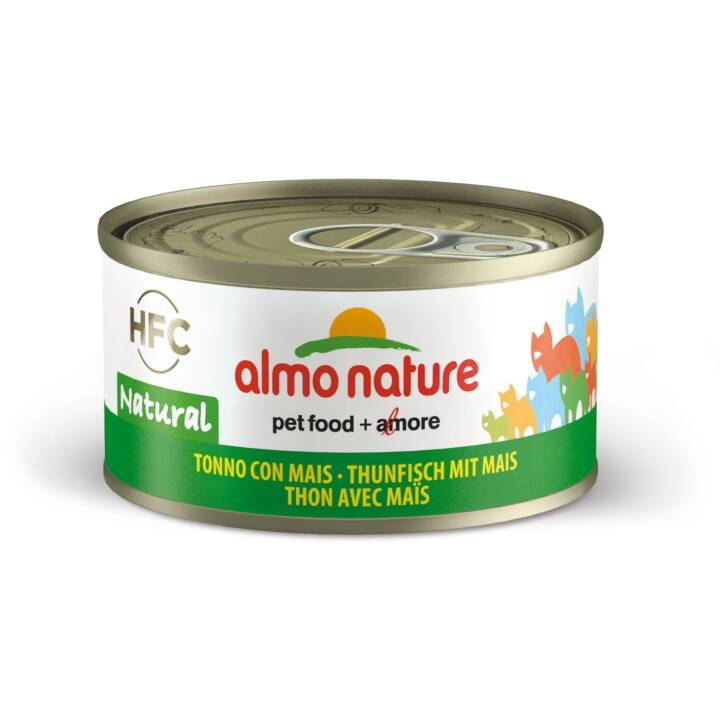 ALMO NATURE HFC Natural (Adulte, 70 g, Thon, Maïs)