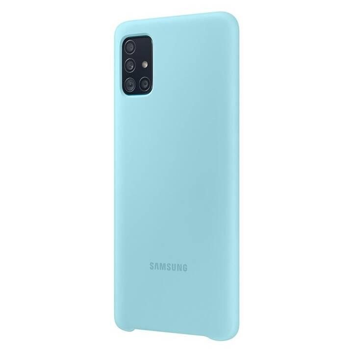 SAMSUNG Hardcase (Galaxy A51, Blau)