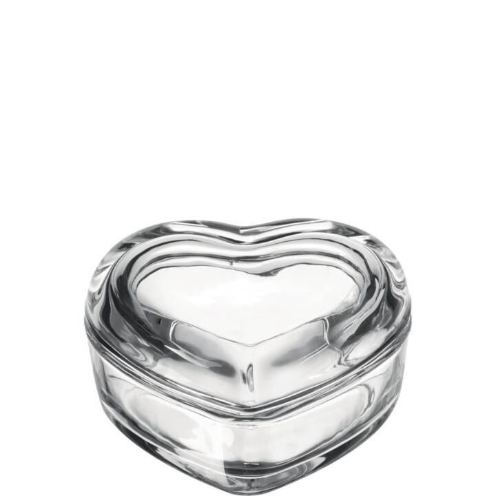 LEONARDO Contenitore universale Heart  (Vetro)