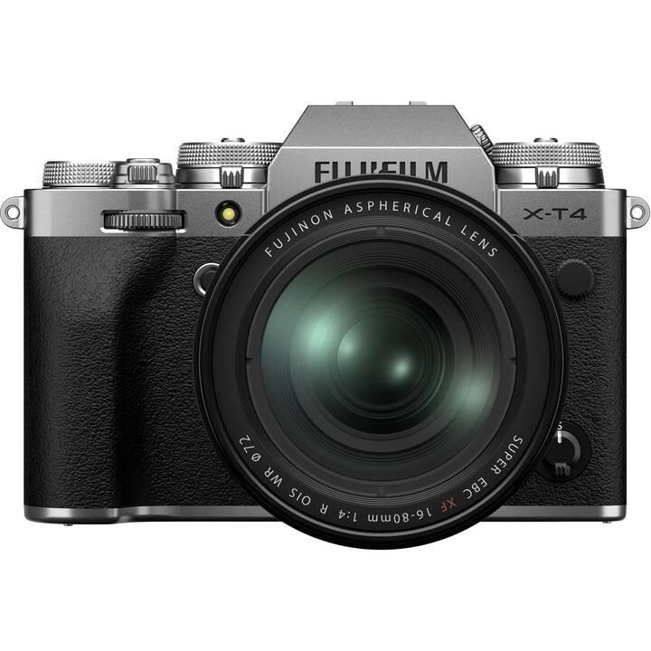 FUJIFILM X-T4 + XF 16-80 mm f4 Kit (26.10 MP, WLAN)