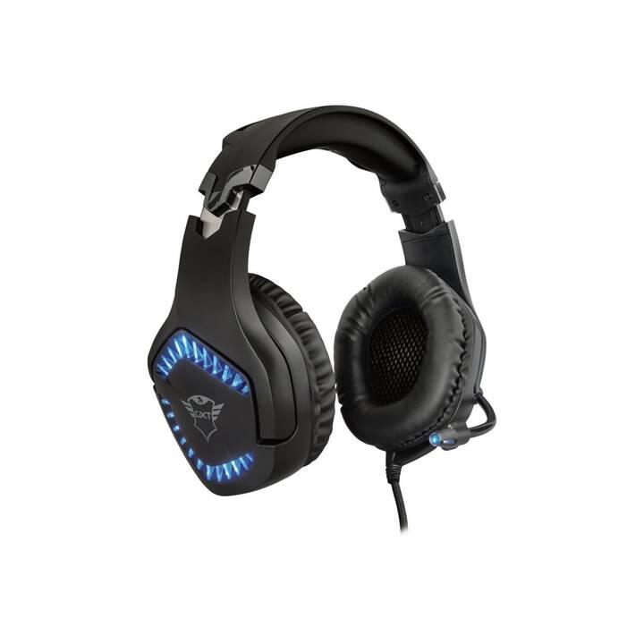 TRUST Cuffia da gioco GXT 460 Varzz  (Over-Ear)
