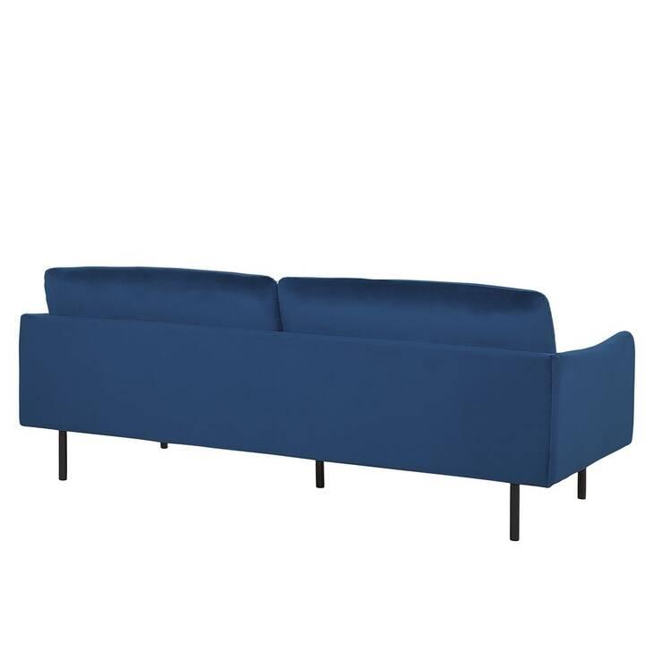 BELIANI VINTERBRO Canapé (Velours, Bleu)