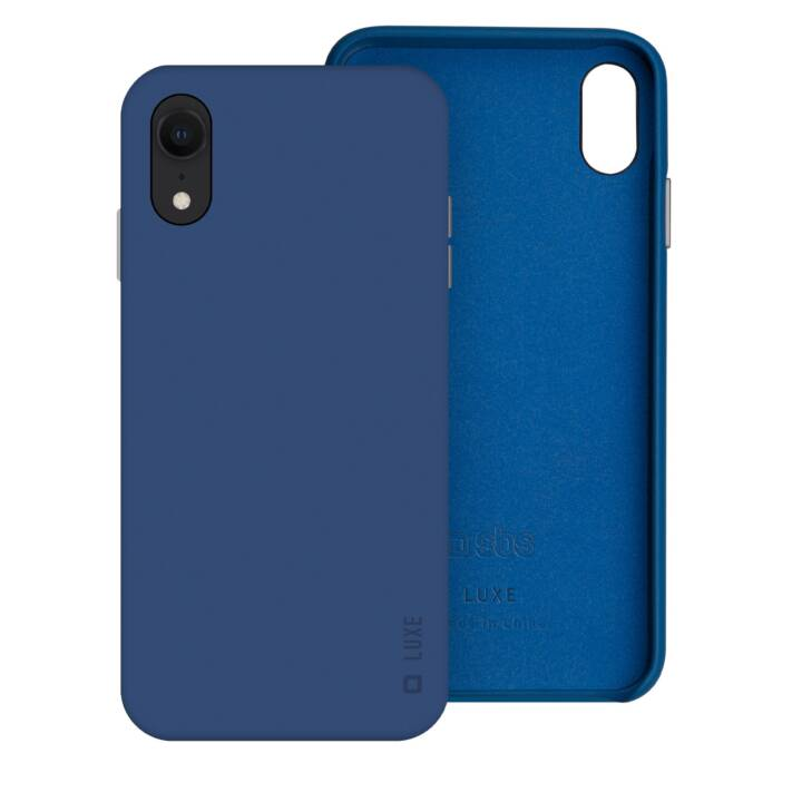 SBS Backcover Luxe (iPhone XR, Blu)