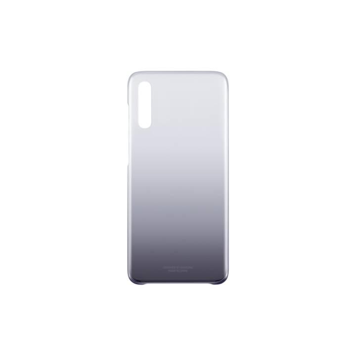 SAMSUNG Backcover EF-AA705 (Galaxy A70, Noir, Transparent)