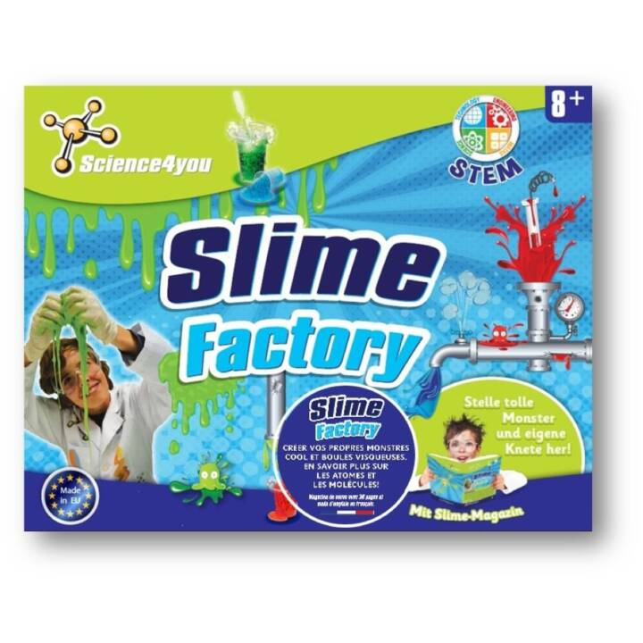 SCIENCE4YOU Experimentierkasten Slime-Factory