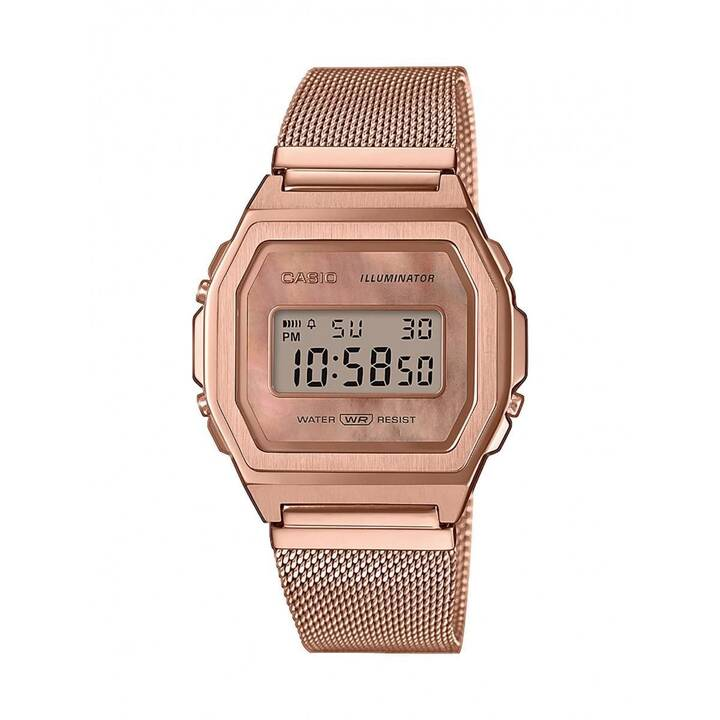 CASIO A1000MPG-9EF (39.6 mm, Digitaluhr, Quarz)