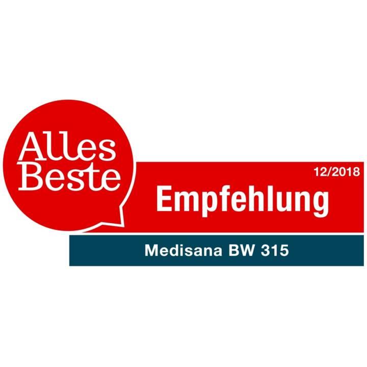 MEDISANA Blutdruckmessgerät BW315 (Handgelenk)