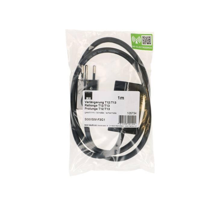 MAX HAURI 105734 Câble d'alimentation (T13, 1 m)