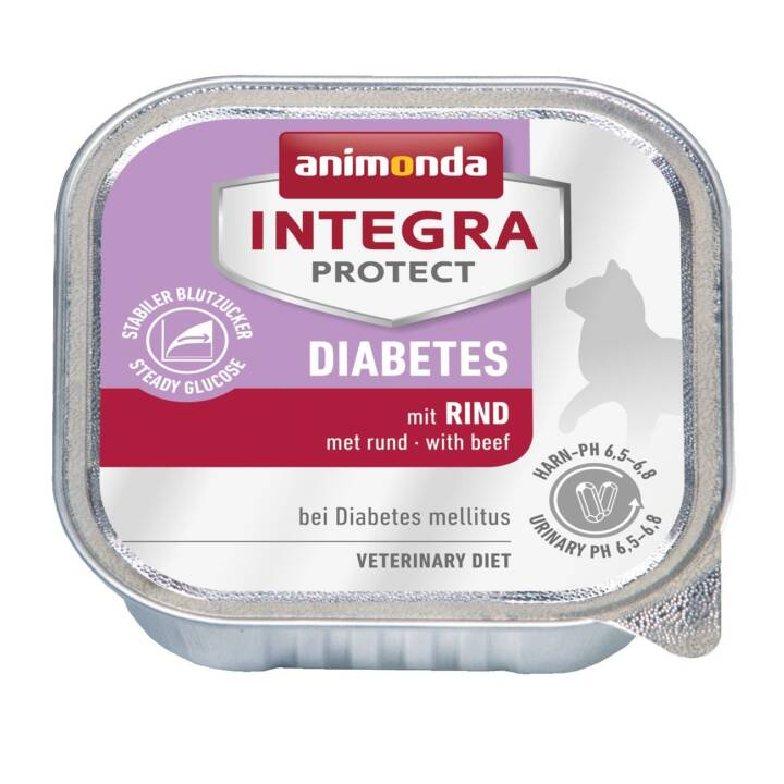ANIMONDA Integra Protect Diabetes (Adulte, 100 g, Bœuf)