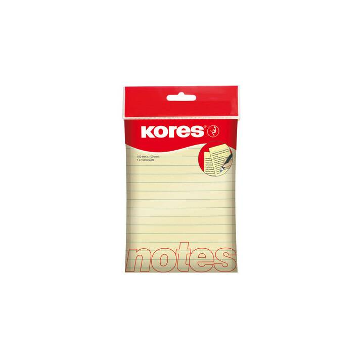 KORES NOTES 100x150mm