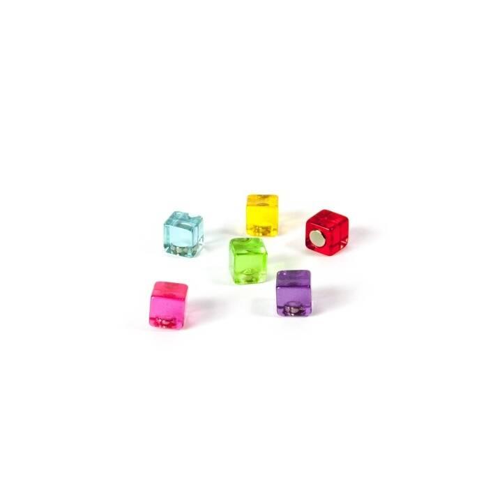 TRENDFORM Magnete Color Cube 6er-Set assortiert