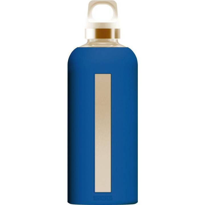 SIGG Borraccia Star Electric Blue (0.5 l, Blu, Argento)