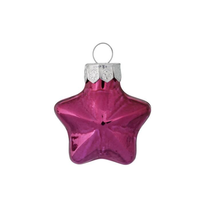 BOLTZE Boules de Noël (12 pièce, Pink)