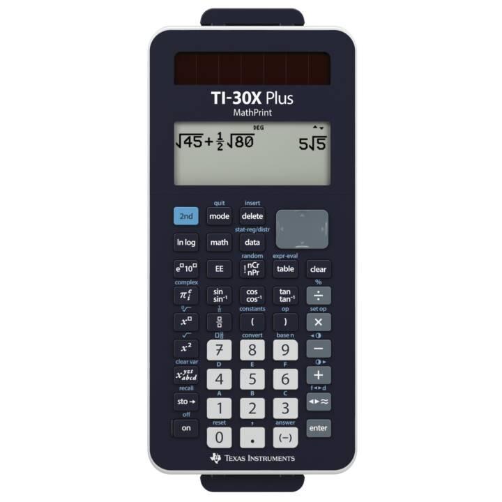 TEXAS INSTRUMENTS TI-30X Calcolatrici da tascabili (Funzionamento di batteria standard, Cellule solari)