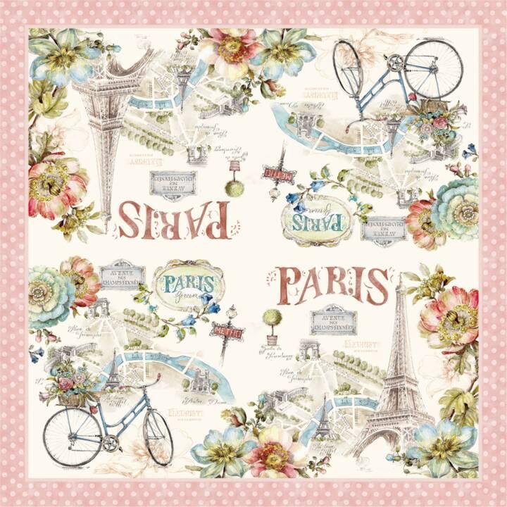EASY LIFE Tovagliolo di carta Paris Forever (20 Stk, Lavorato)