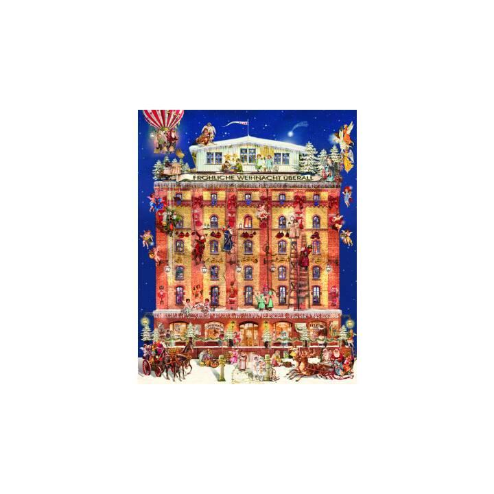 COPPENRATH Calendario dell'Avvento da sogno di Natale, 48 x 59 cm