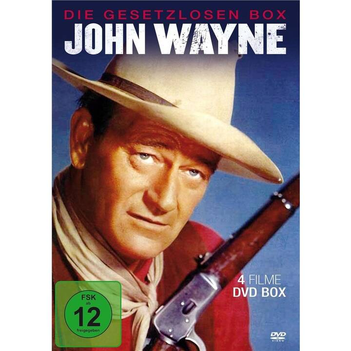 John Wayne - Die Gesetzlosen Box (DE)