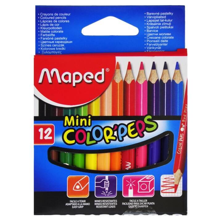 Matite colorate MAPED Matite Color Peps Mini 12 pezzi